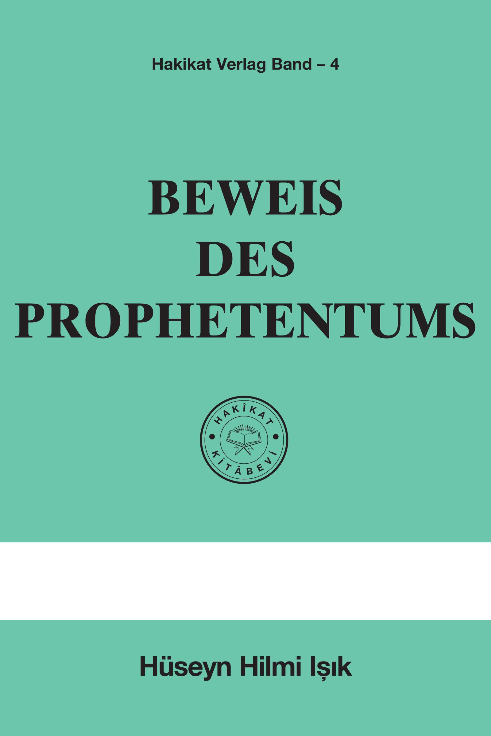 Beweis des Prophetentum
