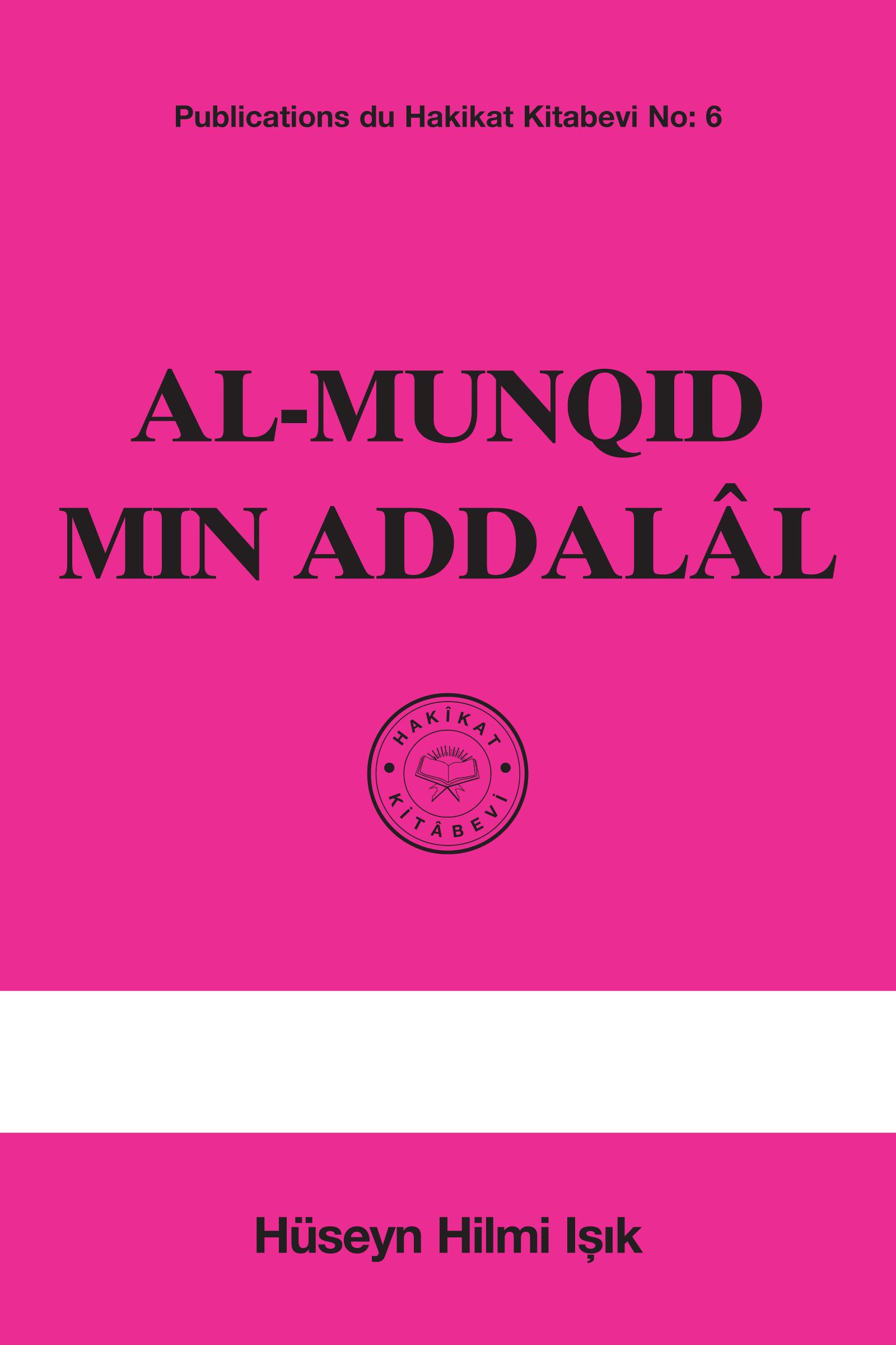 Al-Munqid min ad'Dalal